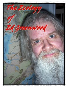 "Author Ed Greenwood, fantasy writer nvolved with the ""Wizards of the Coast"" project, 2013."