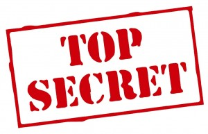 The Administrator opens  his files.  But some things are still TOP SECRET!